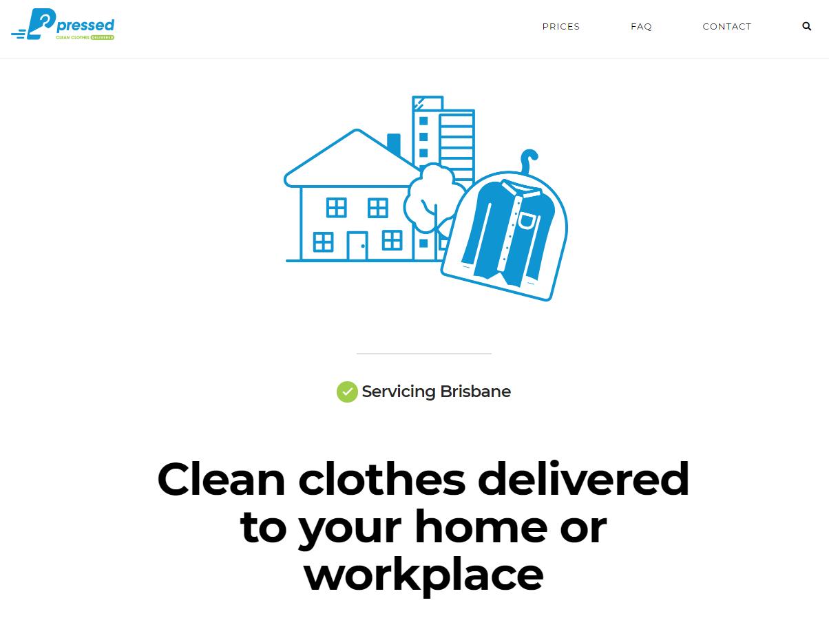 SEO Website project – PressedDelivered.com.au