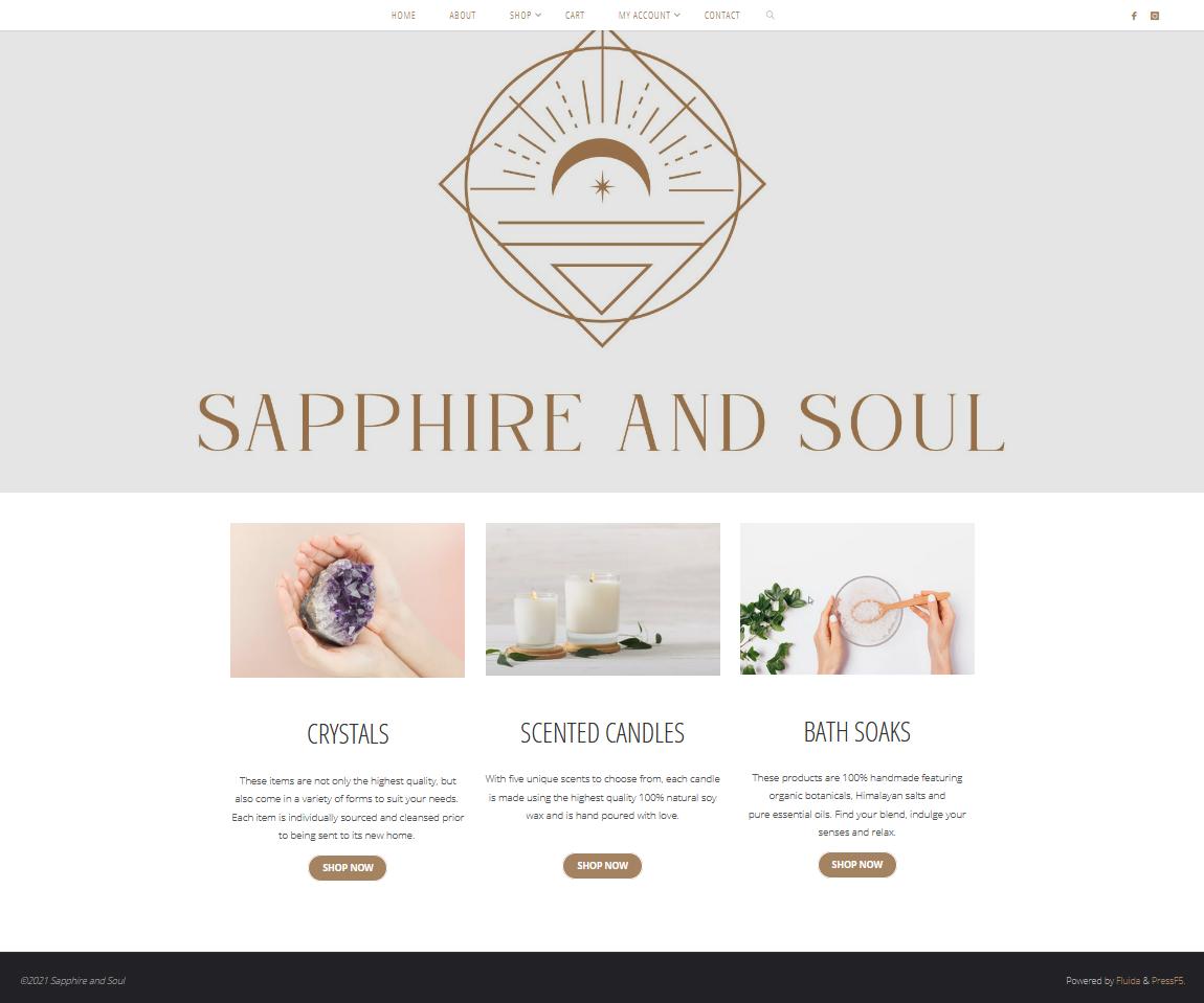 E-commerce Website – Package