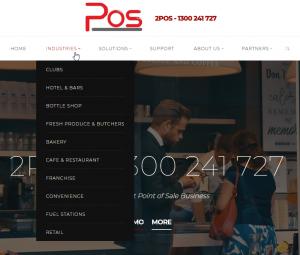 2pos website design