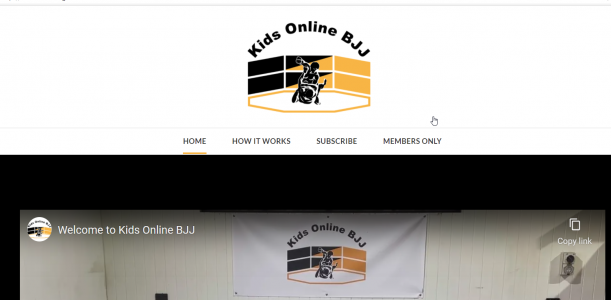 Kids Online BJJ